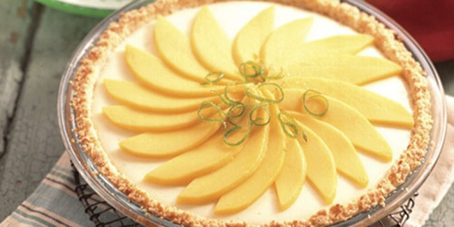 Resep Tropical Lime Mango Pie